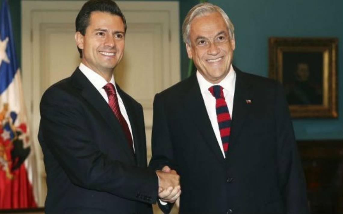 EPN felicita a Sebastián Piñera por su triunfo en elececciones chilenas