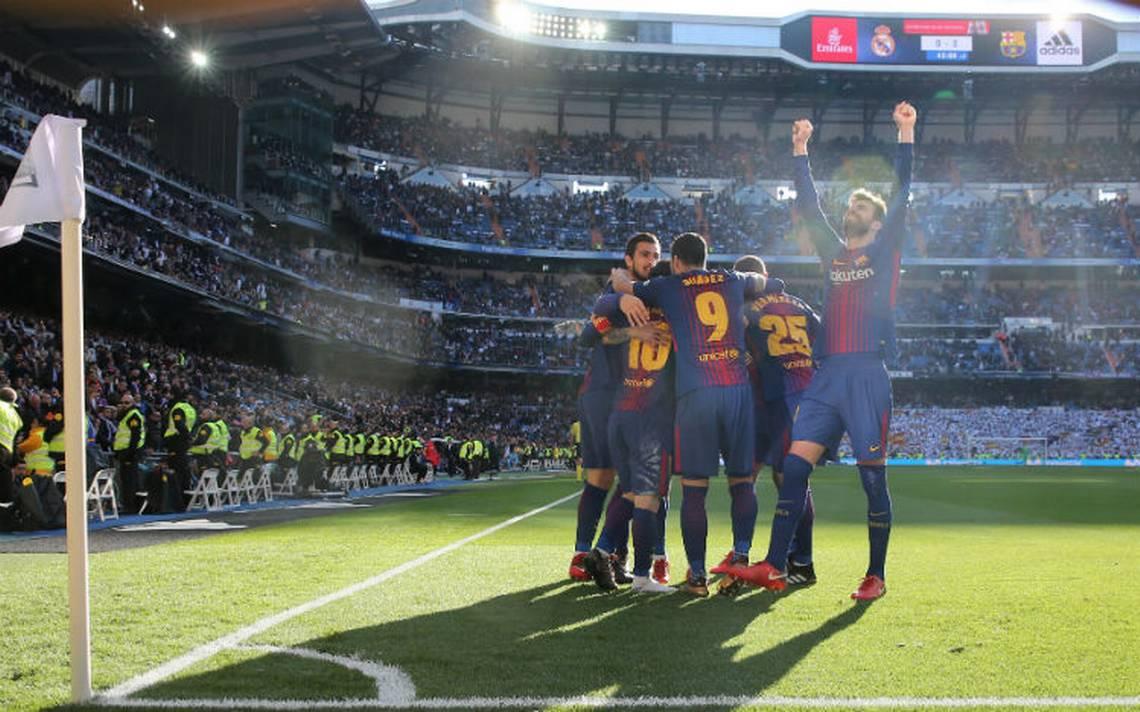 Barcelona golea al Real Madrid y da golpe letal en la Liga