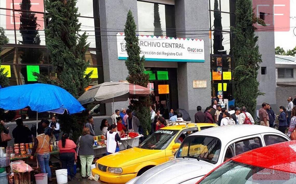 Exigen evaluar instalaciones en Registro Civil de Oaxaca