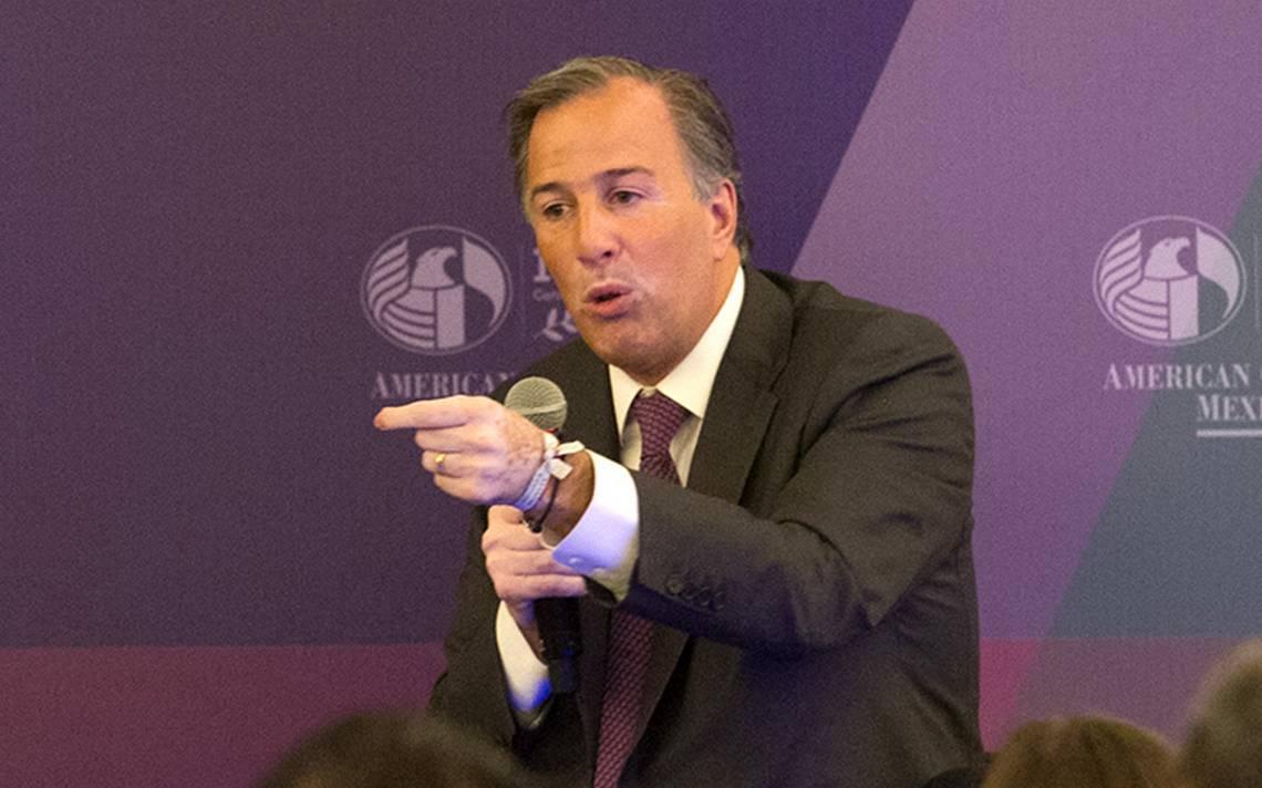 Meade pide a Ricardo Anaya aclarar acusación sobre lavado de dinero