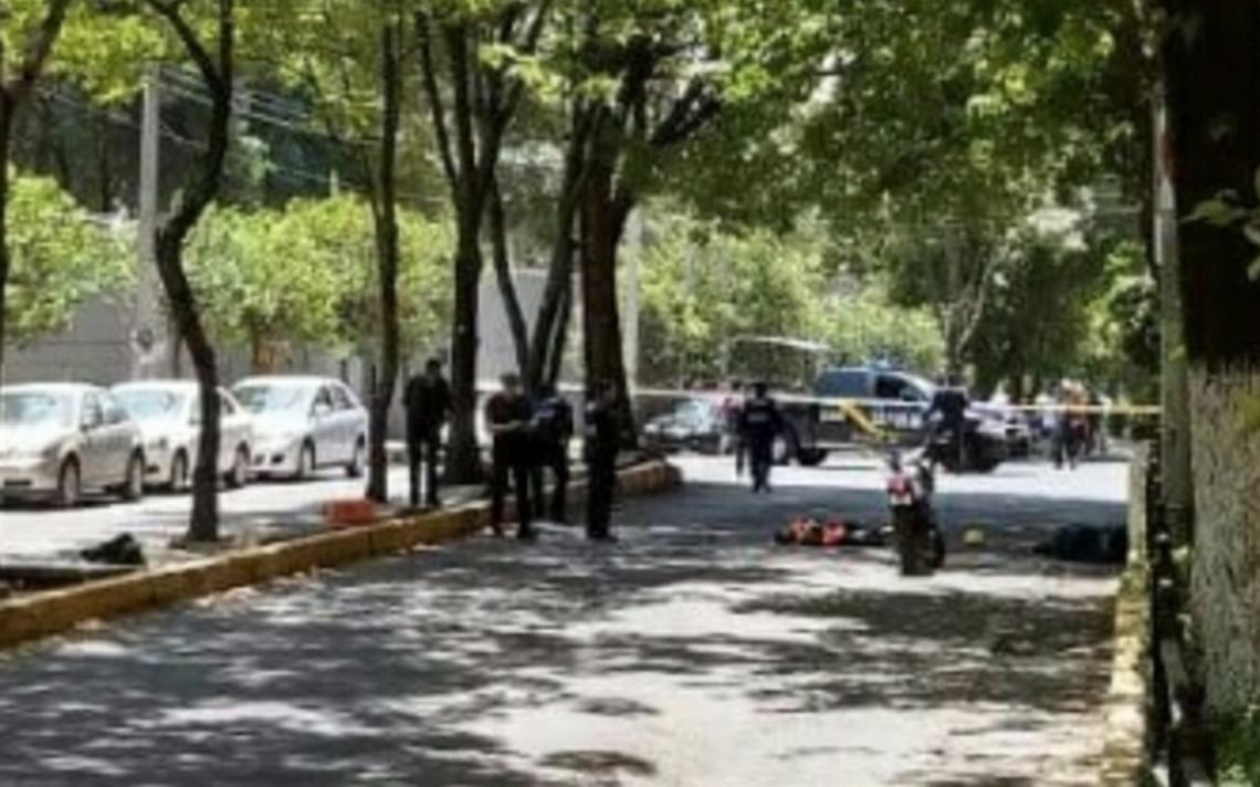 Balacera en Centro Coyoacán deja dos muertos, ambos con antecedentes