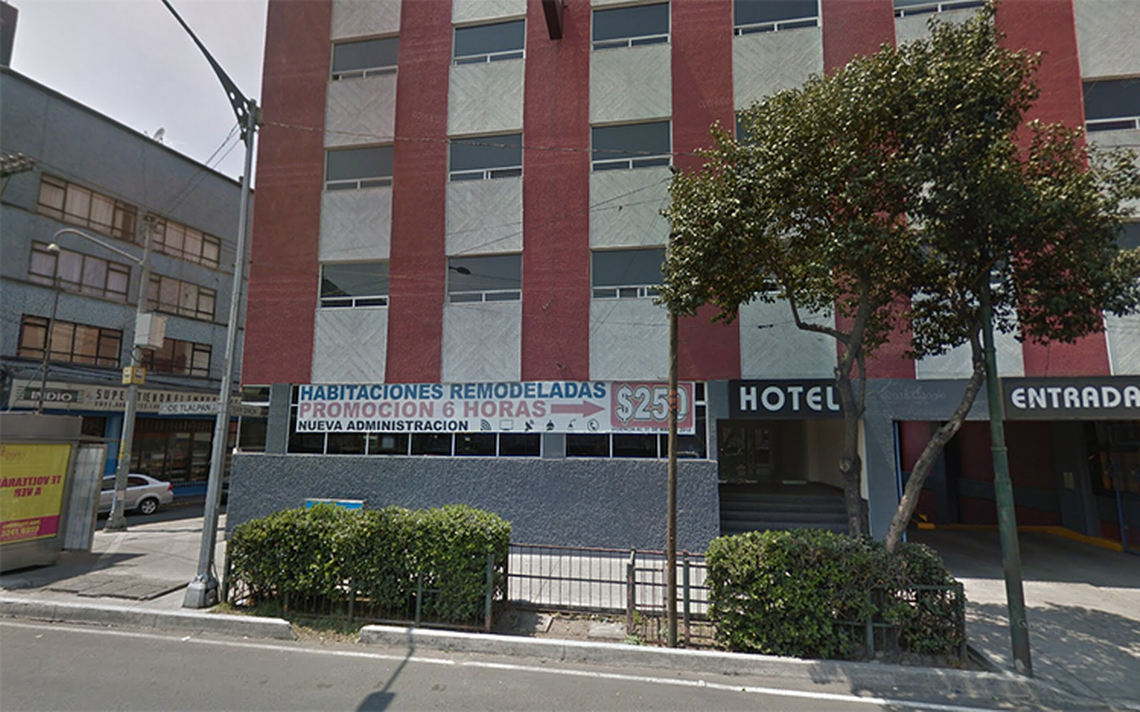Hallan a mujer asfixiada en cuarto de un hotel en Tlalpan