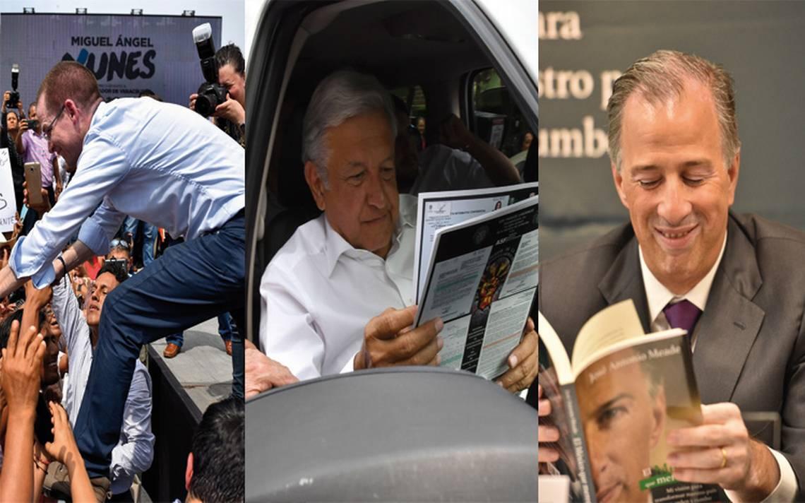 En voz de los reporteros, así fueron los 90 días en campaña con AMLO, Anaya y Meade