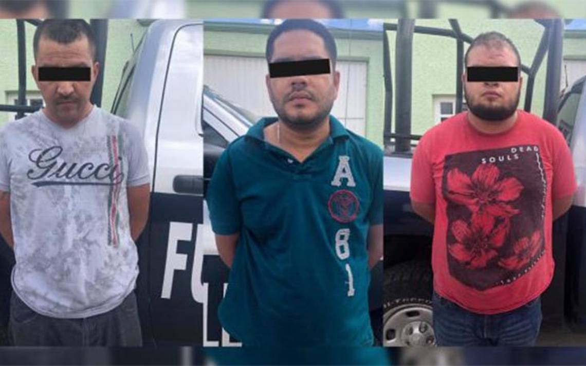 Capturan a otros tres presuntos integrantes del Cártel de Sinaloa
