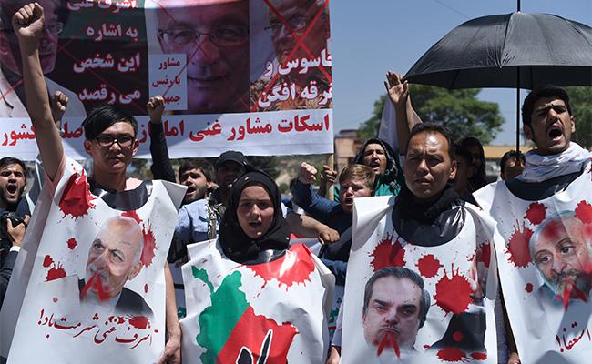 Cuatro muertos en manifestación contra el gobierno en Kabul
