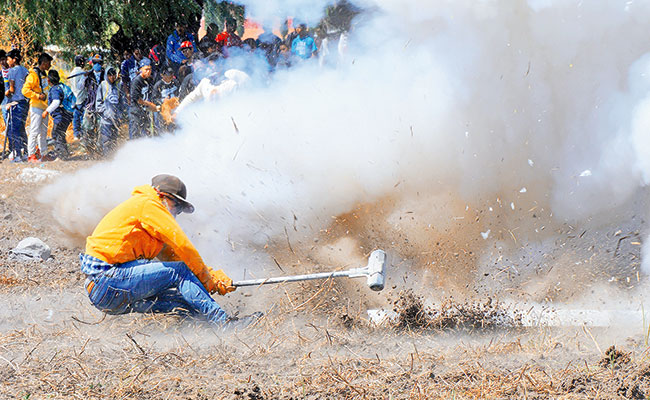 Deja 52 lesionados festejo en honor a San Juanito