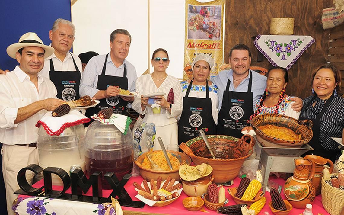 Se llevó a cabo el Sexto Encuentro de Cocina Tradicional de Guanajuato