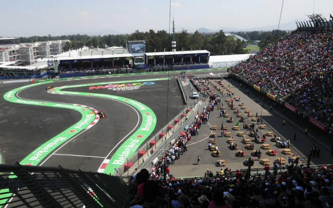 ¡Velocidad pura! Todo listo para el GP de México