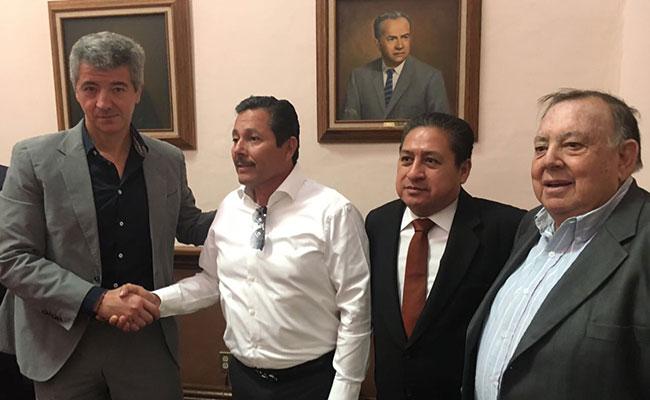 Directiva del Atlético de Madrid llega a San Luis Potosí