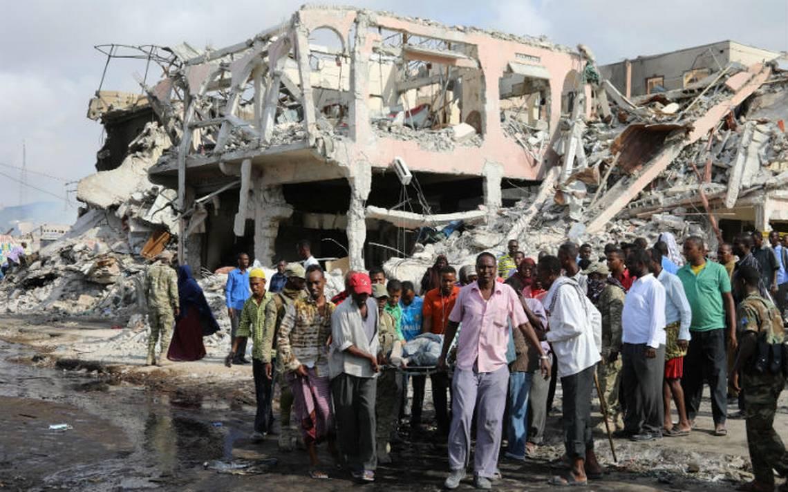 Ya van más de 300 muertos por ataques con bombas en Somalia