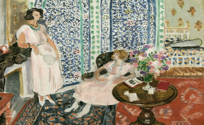 Los objetos que emocionaron e inspiraron a Matisse se exponen en Londres