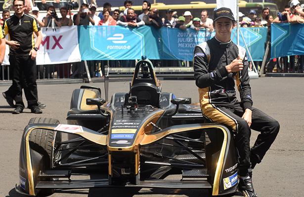 Esteban Gutiérrez, listo para el Fanboost del ePrix de la CDMX