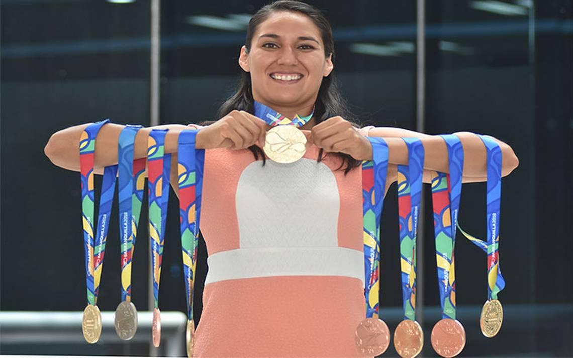 Liliana Ibañéz hace historia en la natación mexicana