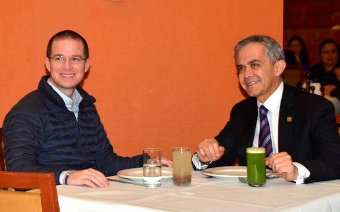 [Video] ¿Nuevo pacto? Anaya se reúne con Mancera en restaurante de la CDMX