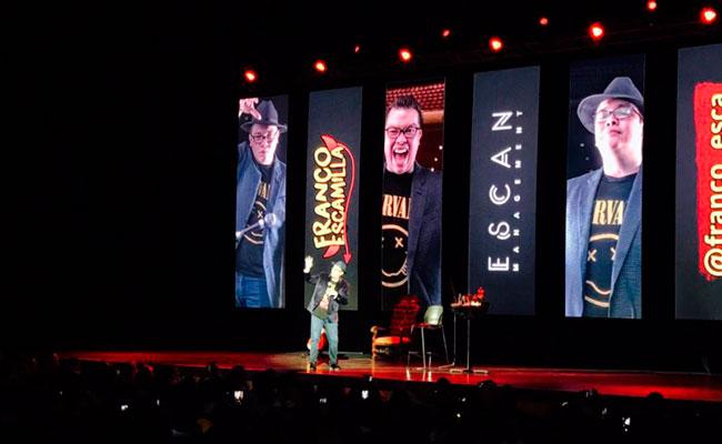 """Franco Escamilla llega al cine con su """"Stand Up Comedy"""""""