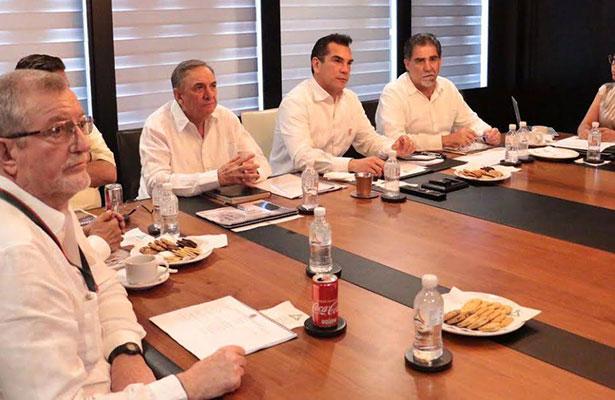 Pide Alejandro Moreno redoblar esfuerzos en  estrategia de seguridad