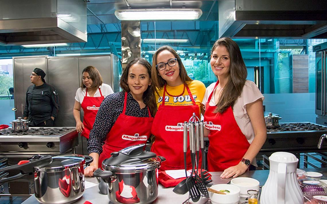 El chef Francisco González ofreció a influencers e invitadas  productiva clase de cocina