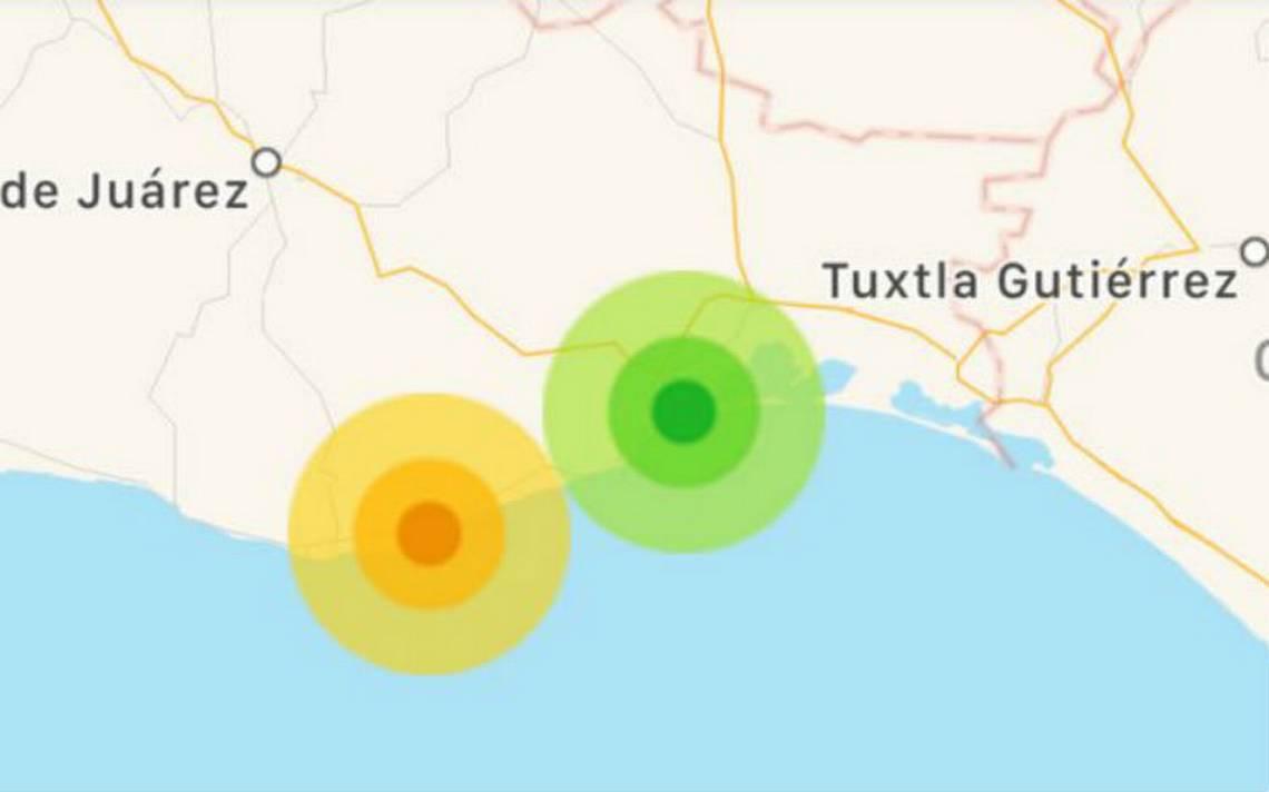 Se registran sismos de intensidad leve y moderado en costa de Oaxaca