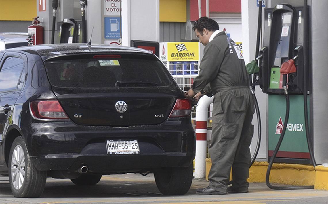 Liberan hoy precios de las gasolinas en el resto del país