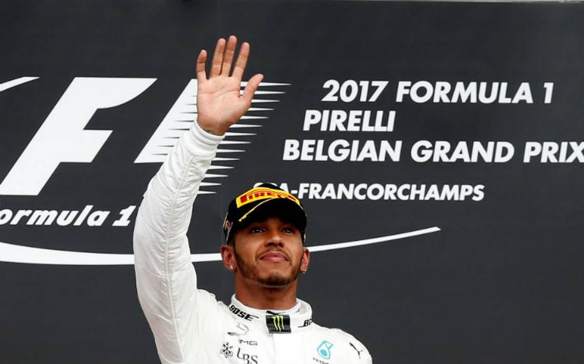 """Hamilton se lleva el GP de Bélgica; """"Checo"""" no concluye la carrera"""