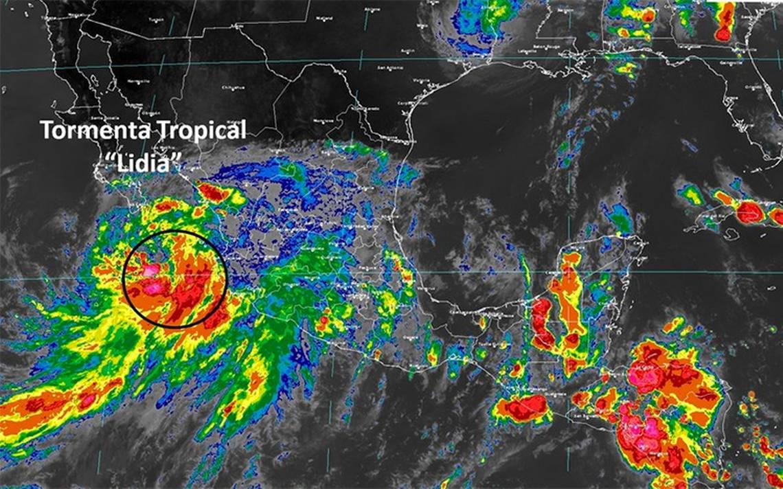 Activan plan DN III en Baja California Sur por tormenta tropical Lidia