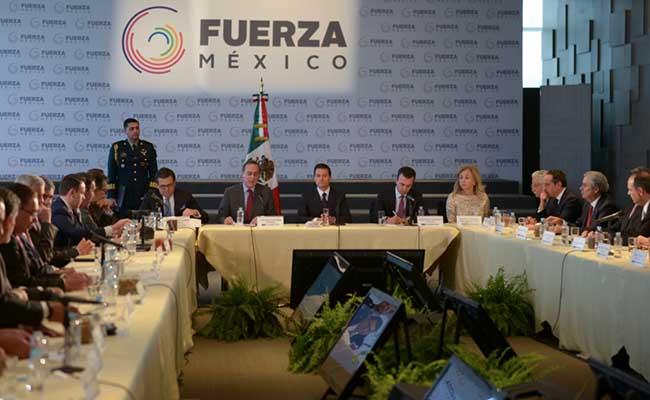 Peña Nieto reconoce compromiso de empresarios que promueven iniciativa Fuerza México