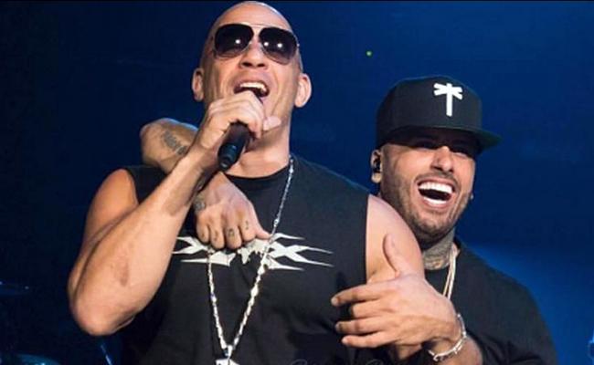 Vin Diesel llega a Colombia; se prepara para la boda de Nicky Jam