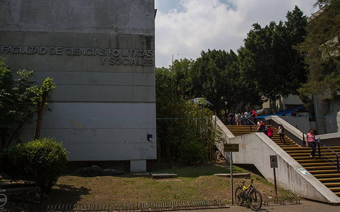 Facultad de Ciencias Políticas de la UNAM recorre horarios por inseguridad