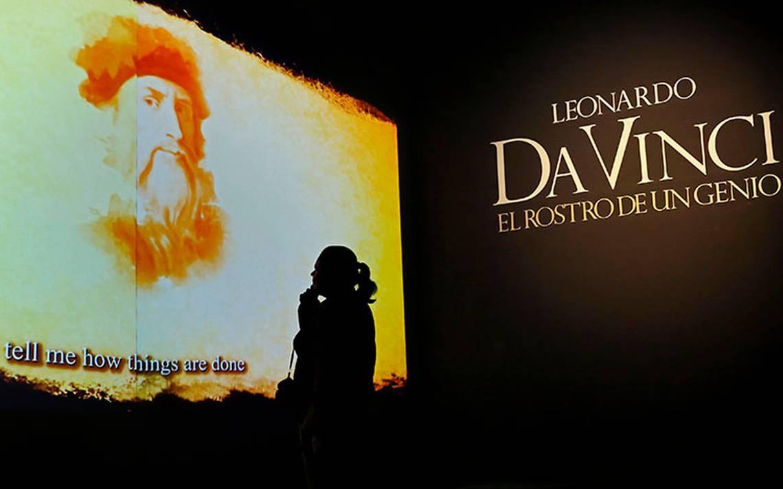 Inauguran la exposición Leonardo Da Vinci, el rostro de un genio