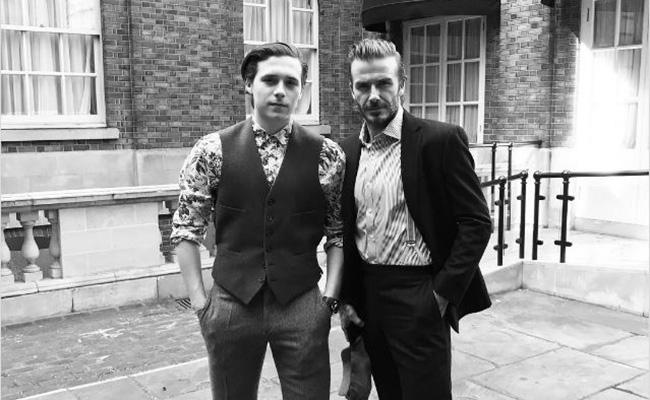 David Beckham y su hijo sufren aparatoso accidente automovilístico