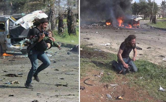 Imagen de fotógrafo se viraliza y muestra el dolor de Alepo