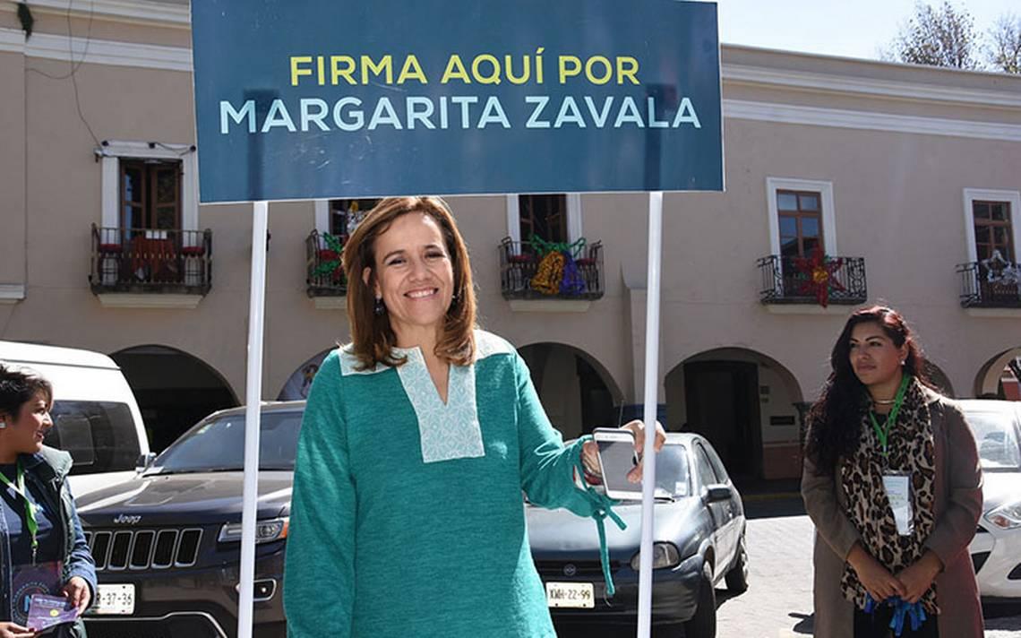 Confía Margarita Zavala en recabar firmas para ser candidata