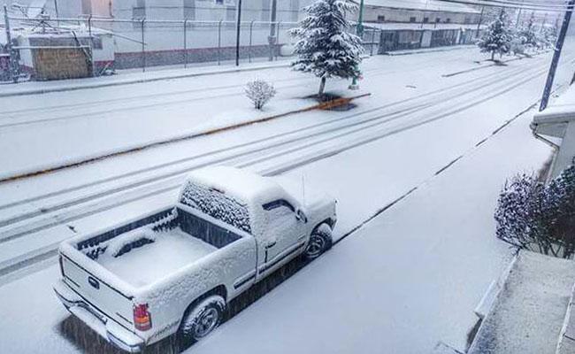 [Video] Así vivió Chihuahua las primeras nevadas de diciembre