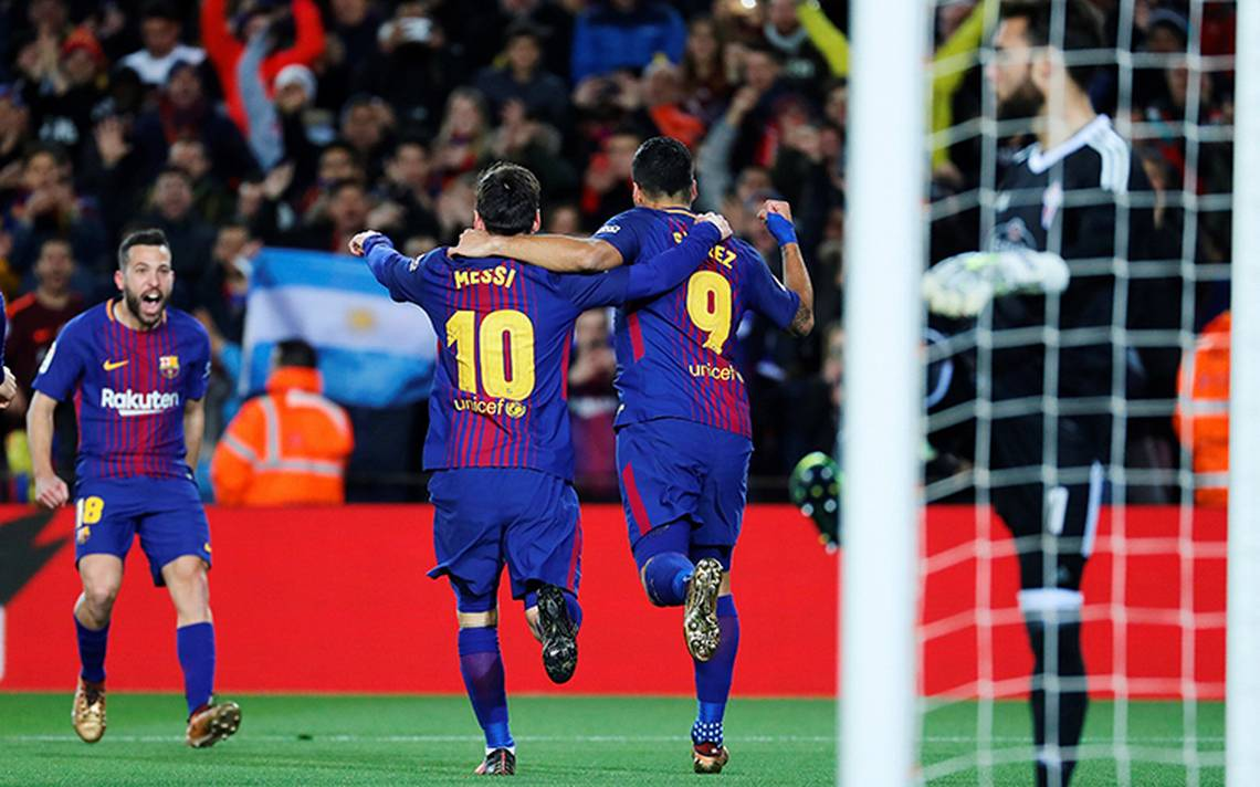 Barcelona avanzó a los cuartos de final de la Copa del Rey