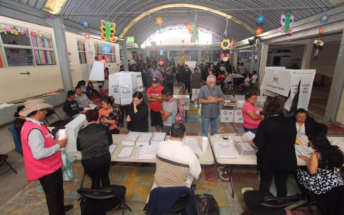 Detienen a 11 personas por presunta compra de votos en Puebla capital