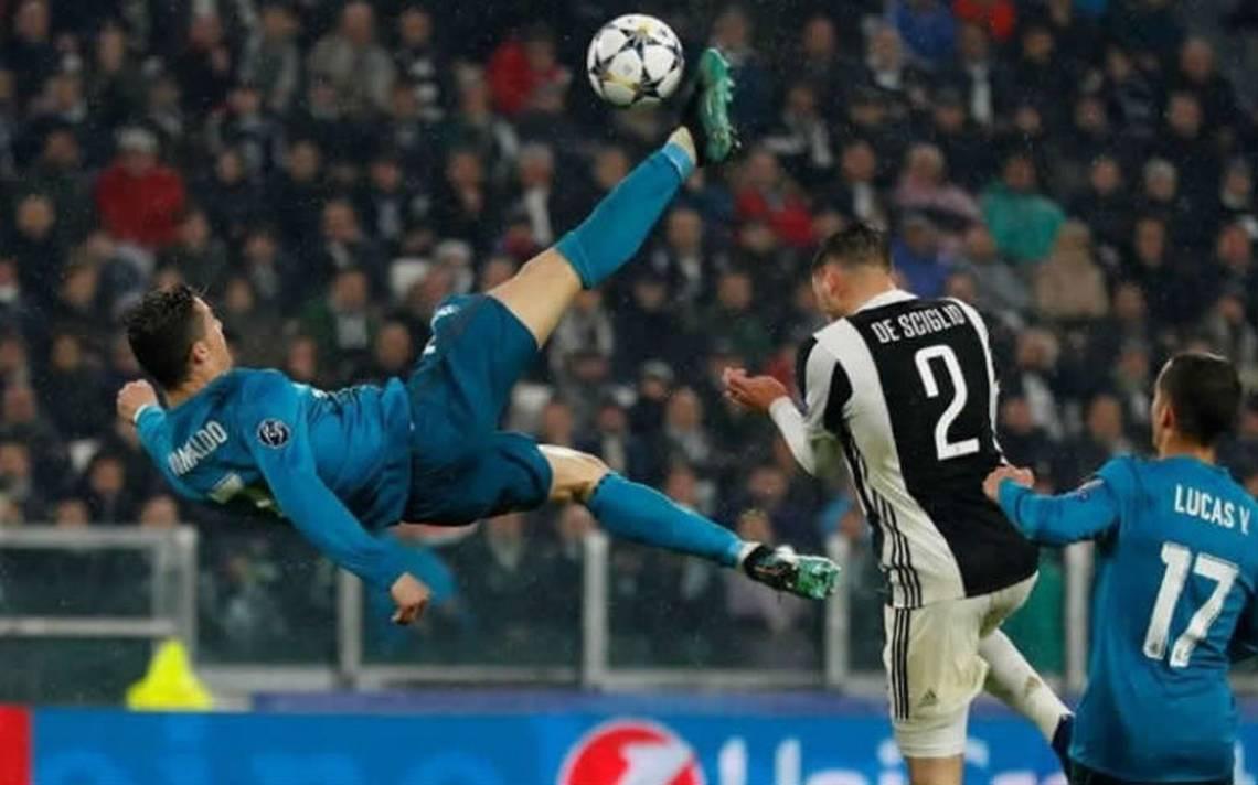 Gol de chilena de Cristiano Ronaldo contra Juventus, el mejor de la temporada