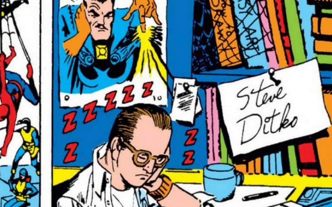 Falleció Steve Ditko, creador de Spider-Man y Doctor Strange