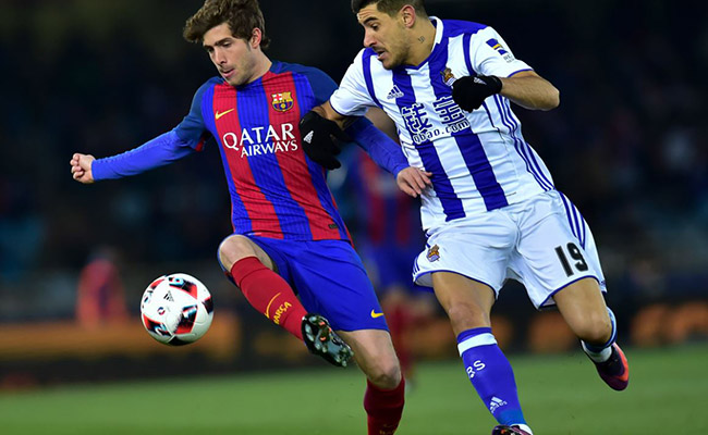 Barça pasa a semifinales tras acabar con la maldición en el Anoeta