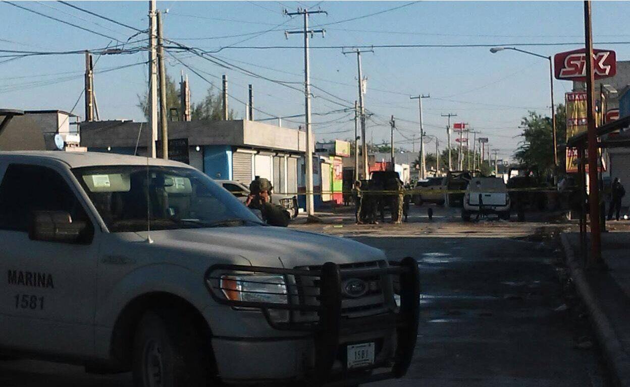 Reynosa vive jornada de violencia y deja al menos 10 muertos