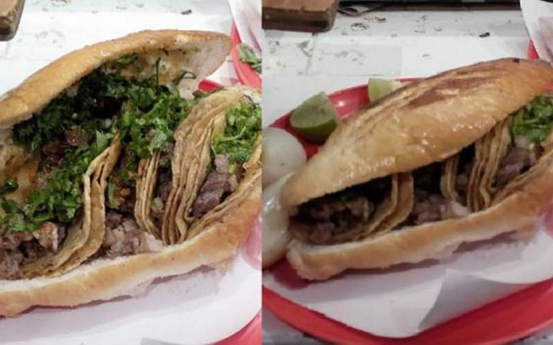 Lo último en gastronomía mexicana: estas son las tortas de tacos de suadero