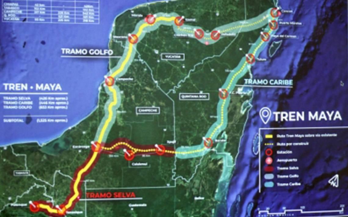 Buscarán a inversionistas de China, Alemania, Francia y Canadá para Tren Maya