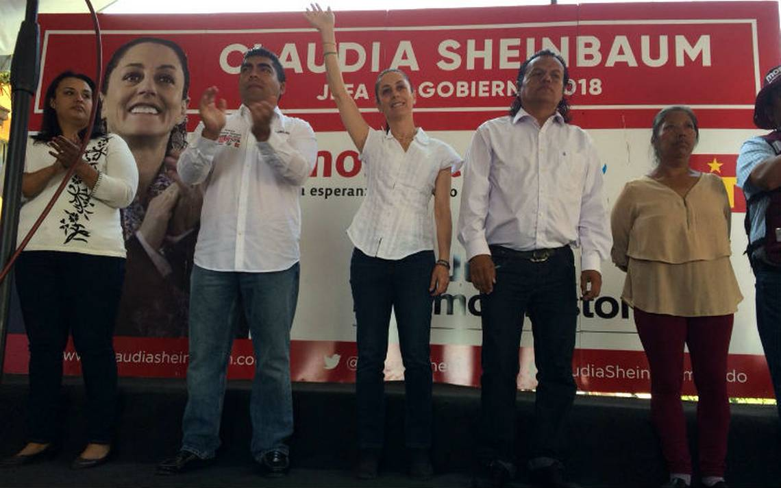 Sheinbaum acusa a PRD de violencia política; promete no más pagos por una pipa de agua