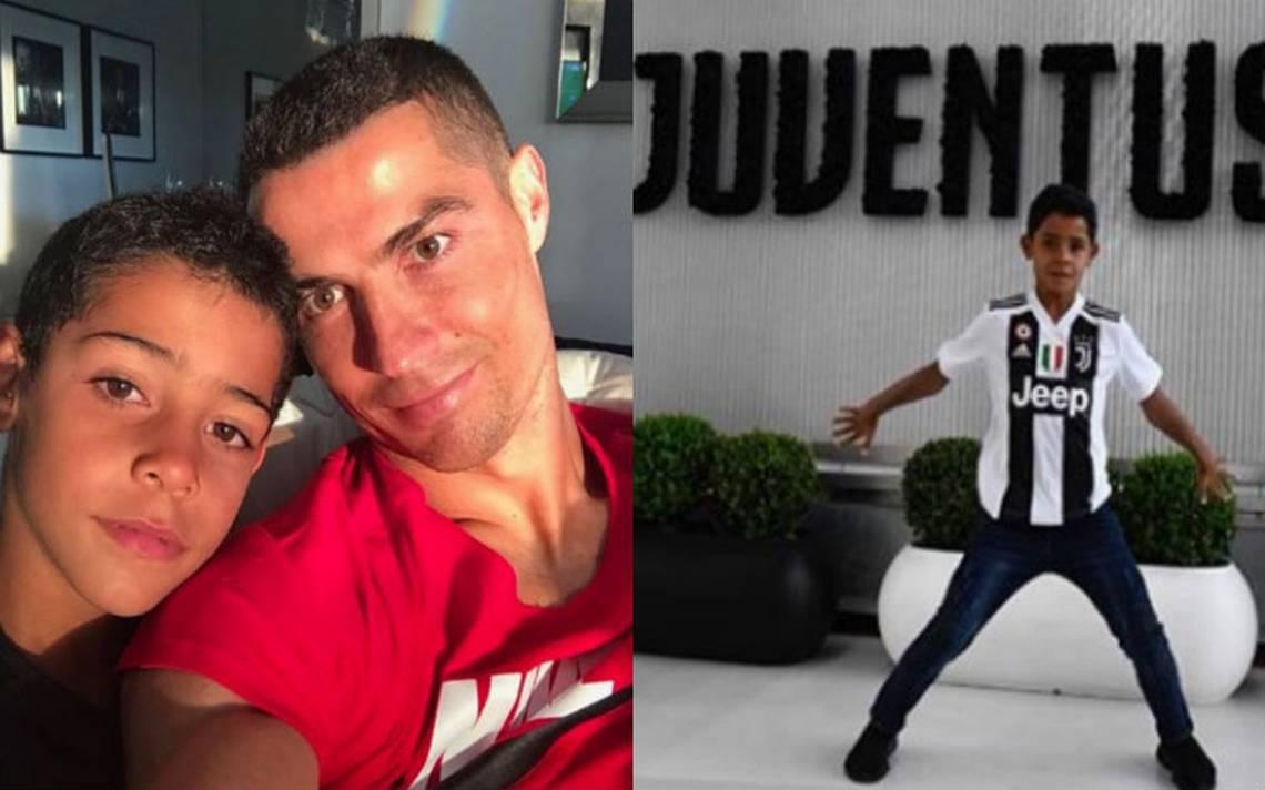 Hijo de Cristiano Ronaldo ya entrena en la cantera de la Juventus
