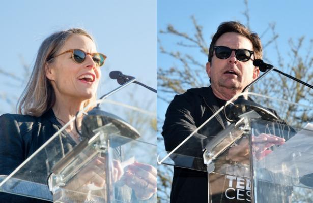 ¡Jodie Foster y Michael J. Fox arremeten contra Donald Trump!