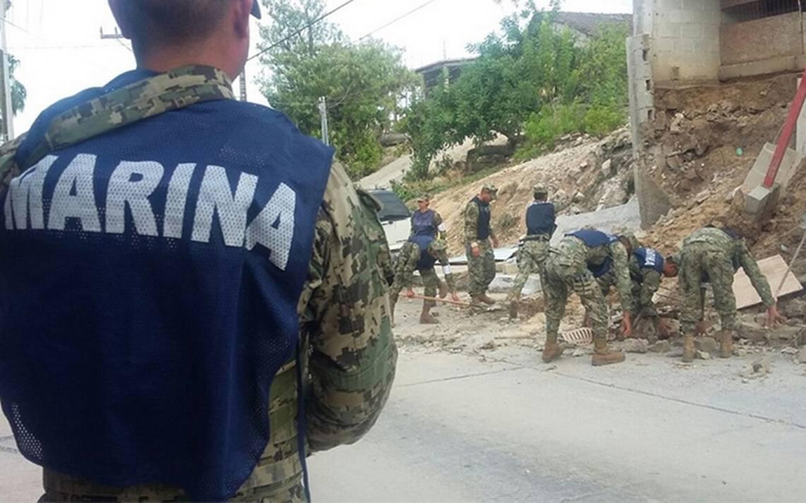 """Semar despliega más de 800 efectivos para ayudar en BCS tras paso de """"Lidia"""""""