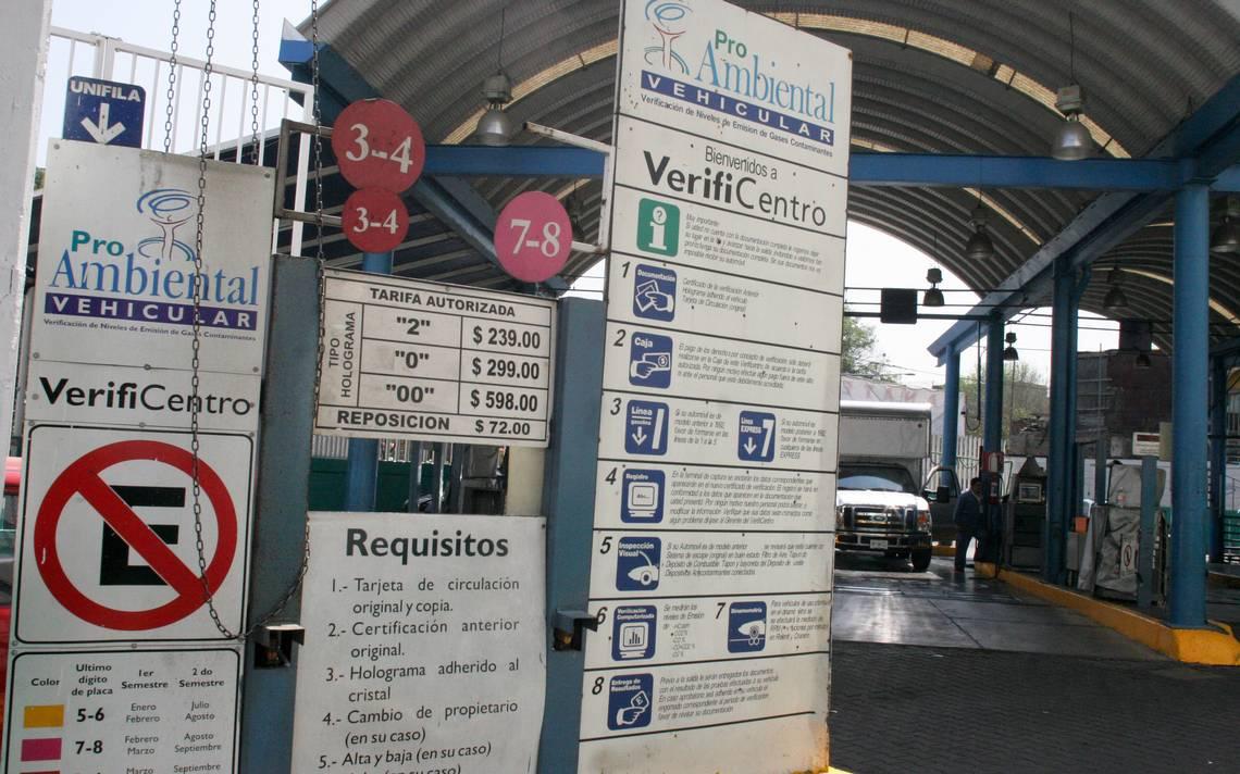 Semana Santa sin afectar verificientros en el Edomex: abrirán el 94%
