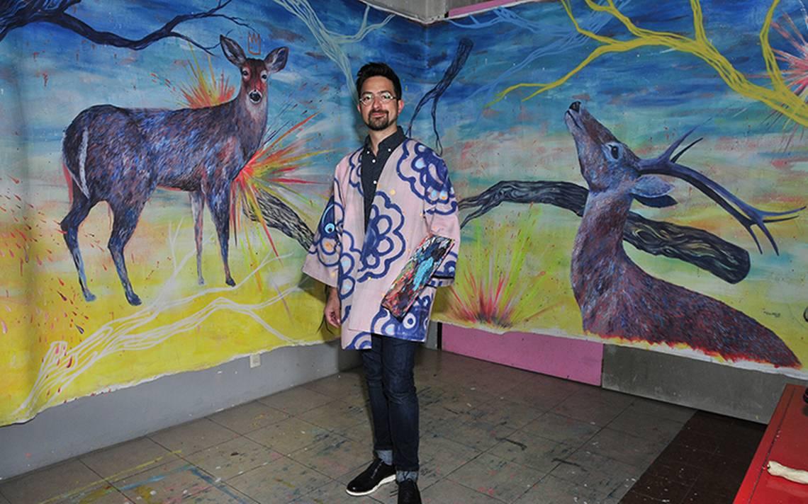 Jorge Tellaeche a través de su obra demostró su solidaridad hacia México