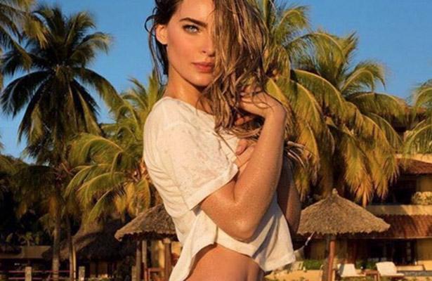 Belinda disfruta el verano con sensual fotografía