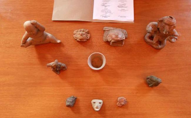 Gobierno mexicano recupera piezas arqueológicas encontradas en Italia