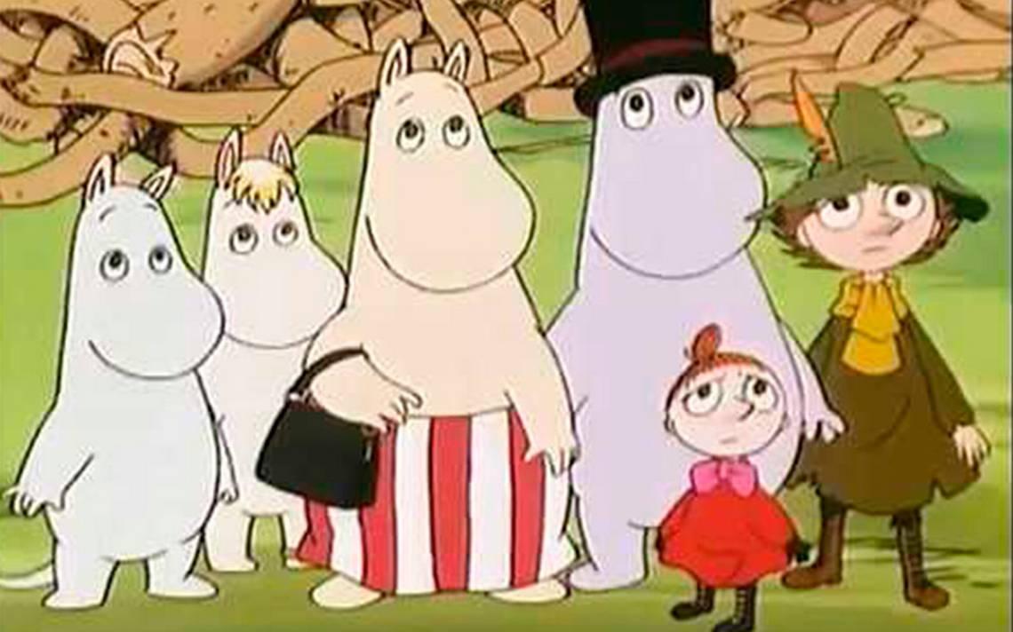 Familia Moomin invade el Museo de San Carlos y te invita a ver su película